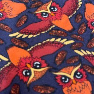 LulaRoe Owl Print Leggings  ~ Tall & Curvy
